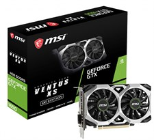 MSI GeForce GTX 1650 VENTUS XS 4G OC Graphics Card 4GB DDR5 128-bit