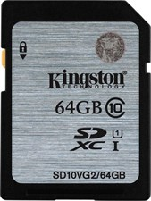 Kingston Digital 64GB SDHC Class 10 UHS SD CARD