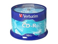 Verbatim 700MB 52X CD-R 50 Packs Spindle Disc Model 94691