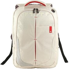 "Crown Micro 15.6"" Genuine Backpack White-BPG4415W"