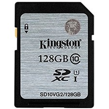 Kingston Digital 128GB SDHC Class 10 UHS SD CARD