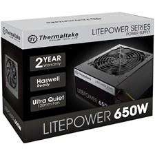 Thermaltake Litepower Series GEN2 650W Power Supply (LTP-0650P-2)