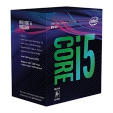 Intel Core i5-8500 Processor, Coffee Lake, LGA 1151 (300 Series), 8th Gen