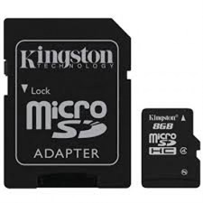 kingston 8gb Micro-SD Card Class 10