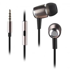 A4Tech MK-750 GOLD In-Ear Earphone (Black)