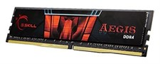 G.SKILL Aegis 16GB (16GBx1) DDR4 3000 Mhz Desktop Memory (Single Channel Kit)