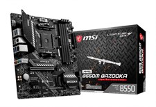 MSI MAG B550M BAZOOKA AMD AM4 DDR4 MOTHERBOARD