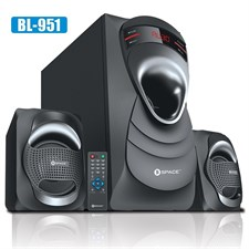 Space Blast BL-951, 2.1 Wireless Speakers