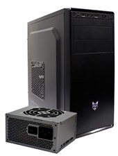 FSP CMT130 Mid Tower Chassis with 400W Power Supply