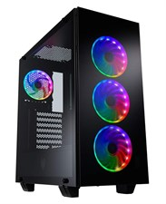FSP CMT510 Plus Mid Tower Gaming Case with 3 Tempered Glass