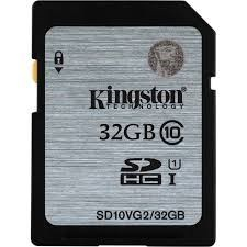 Kingston Digital 32GB SDHC Class 10 UHS SD CARD