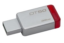 Kingston 32GB DataTraveler 50 USB 3.0 Flash Drive, Speed Up to 110MB/s (DT50/32GBFR)