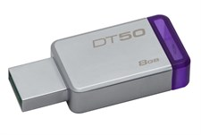 Kingston 8GB DataTraveler 50 USB 3.0 Flash Drive (DT50/8GBFR)