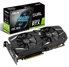 Asus Dual GeForce RTX™ 2060 OC edition 6GB GDDR6 192-bit Graphic Card