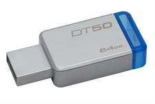 Kingston 64GB DataTraveler 50 USB 3.0 Flash Drive, Speed Up to 110MB/s (DT50/64GBFR)