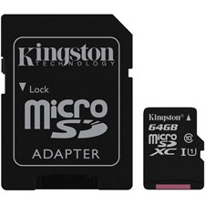 kingston 64gb Micro-SDHC Card Class 10