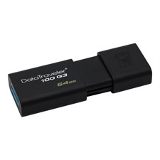 Kingston 64GB DataTraveler 100 G3 USB 3.0 Flash Drive (DT100G3/64GB)