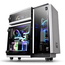 Thermaltake Level 20 Tempered Glass Edition E-ATX Full Tower Chassis With Three Tempered Glass Windo