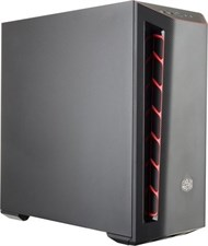 Cooler Master MasterBox MB501L Red Trim- Mid-Tower Case
