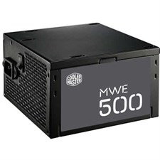 Cooler Master MWE 500 - 500W Watt Active PFC Power Supply (MPW-5002-ACABW)