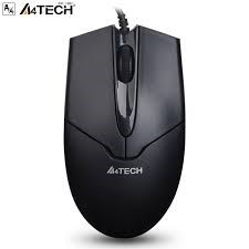 A4Tech OP-550NU X' Glide Optical Mouse - Black