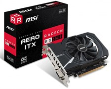 MSI Radeon RX 560 AERO ITX 4G OC Graphics Card, 4GB DDR5 128-bit