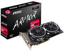 MSI Radeon RX 580 ARMOR 8G OC Graphic Card, 8GB DDR5 256 Bit