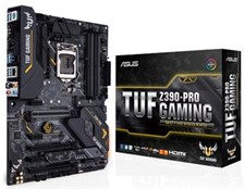 Asus TUF Z390-Pro Gaming Motherboard LGA1151 Socket Motherboard (Intel 8th and 9th Gen)