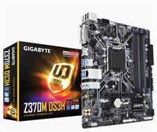 Gigabyte Z370M DS3H Intel Z370 Ultra Durable Motherboard